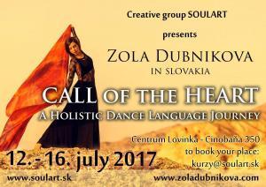 Call of the Heart – Holistic Dance Language Retreat Slovakia 2017