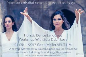 Holistic Dance Language workshop in Belgium 2017