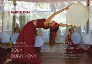 Holistic Dance Language weekend intensive Barcelona 2017