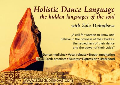 Holistic Dance Language Workshop