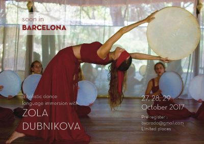 Holistic Dance Language weekend intensive Barcelona 2017